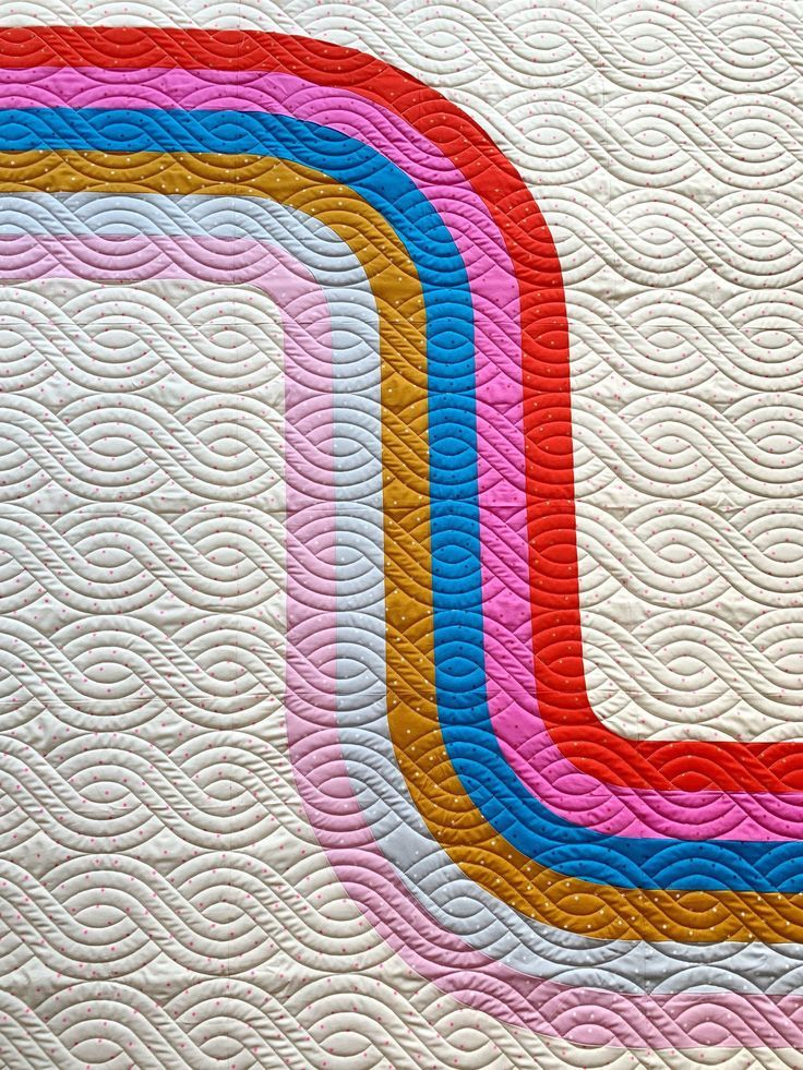 LOOPER Quilt Pattern PDF | Easy quilt patterns, Modern quilt patterns, Quilt patterns