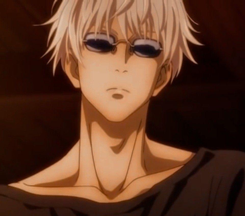 Gojo Satoru Without Mask Wearing Glasses Ochki Iskusstvo Anime