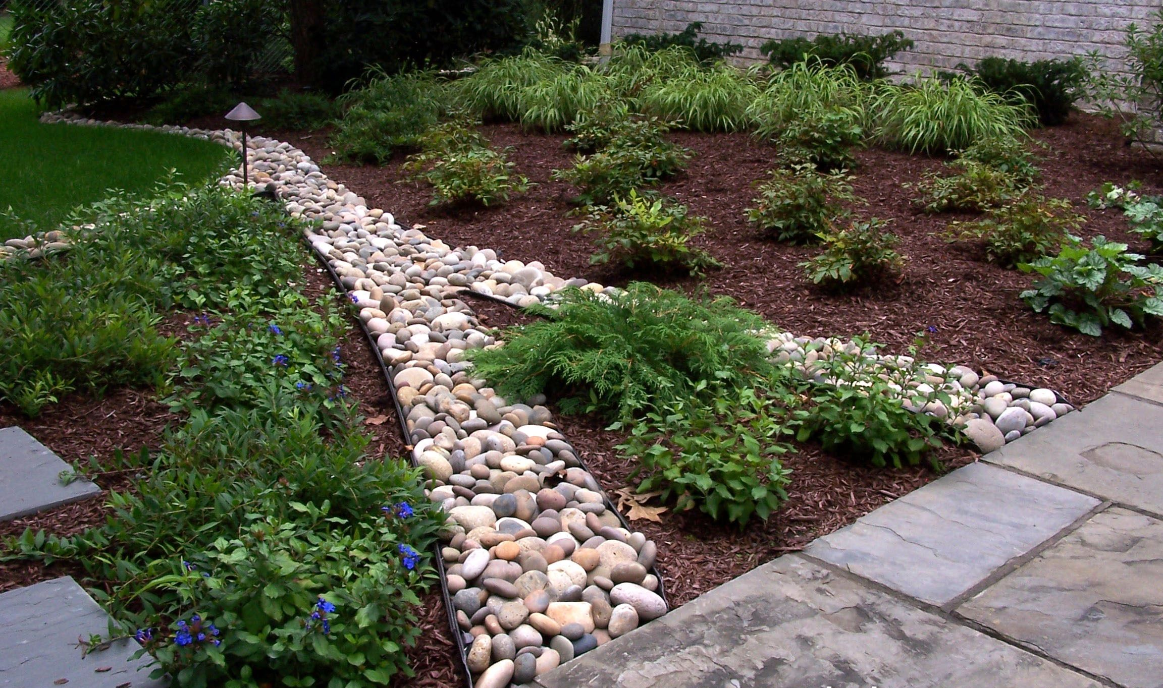 garden pebbles design - Google Search | Gardening | Pinterest | Gardens