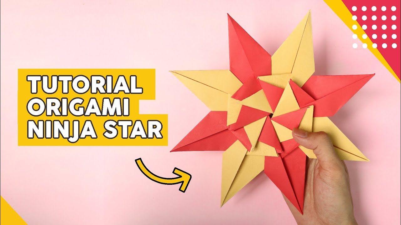 Wow Cara Membuat Origami Ninja Star Di 2020 Origami
