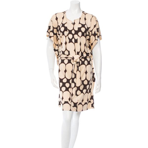 Pre-owned Diane von Furstenberg Silk Kimono Dress ($75) ❤ liked on ...