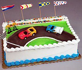 Oasis Supply Stock Car Racing Cake Decorating Topper Kit Oasis