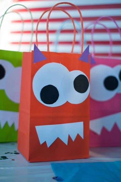 Monster Bash Monsters DIY Two Years Old Little Boys Birthday Goody