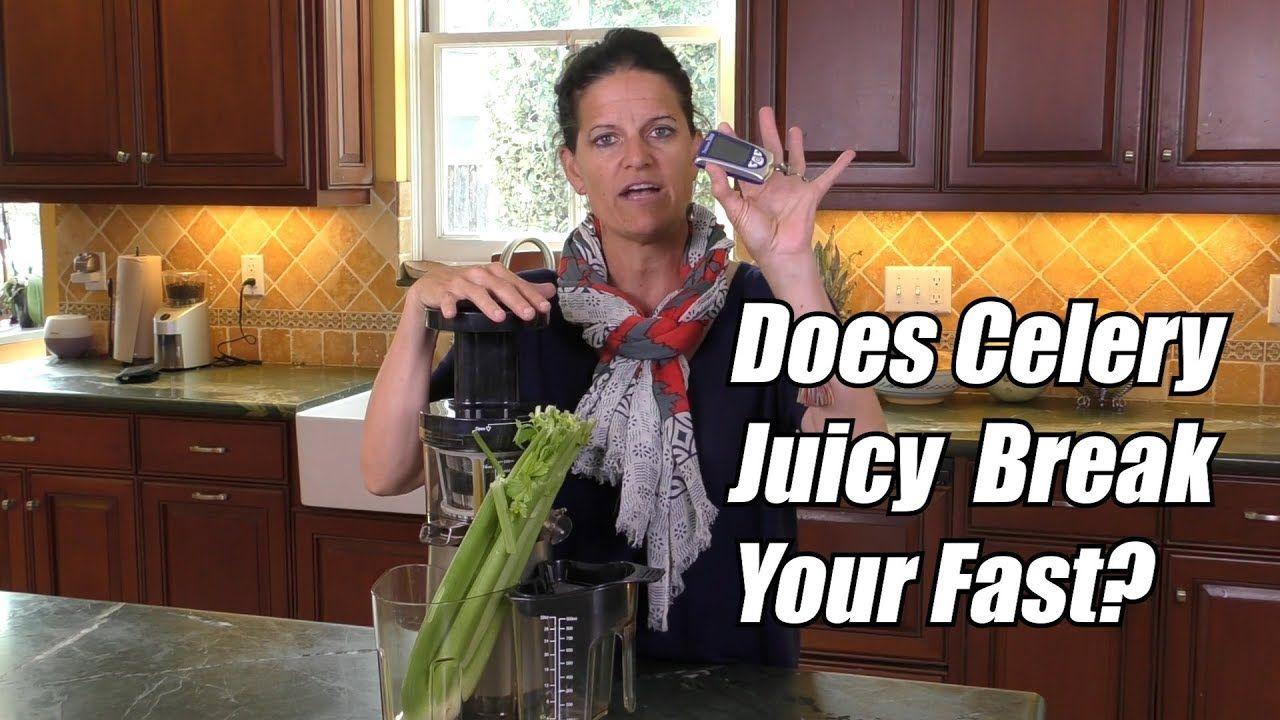 Does celery juice break your fast youtube celery