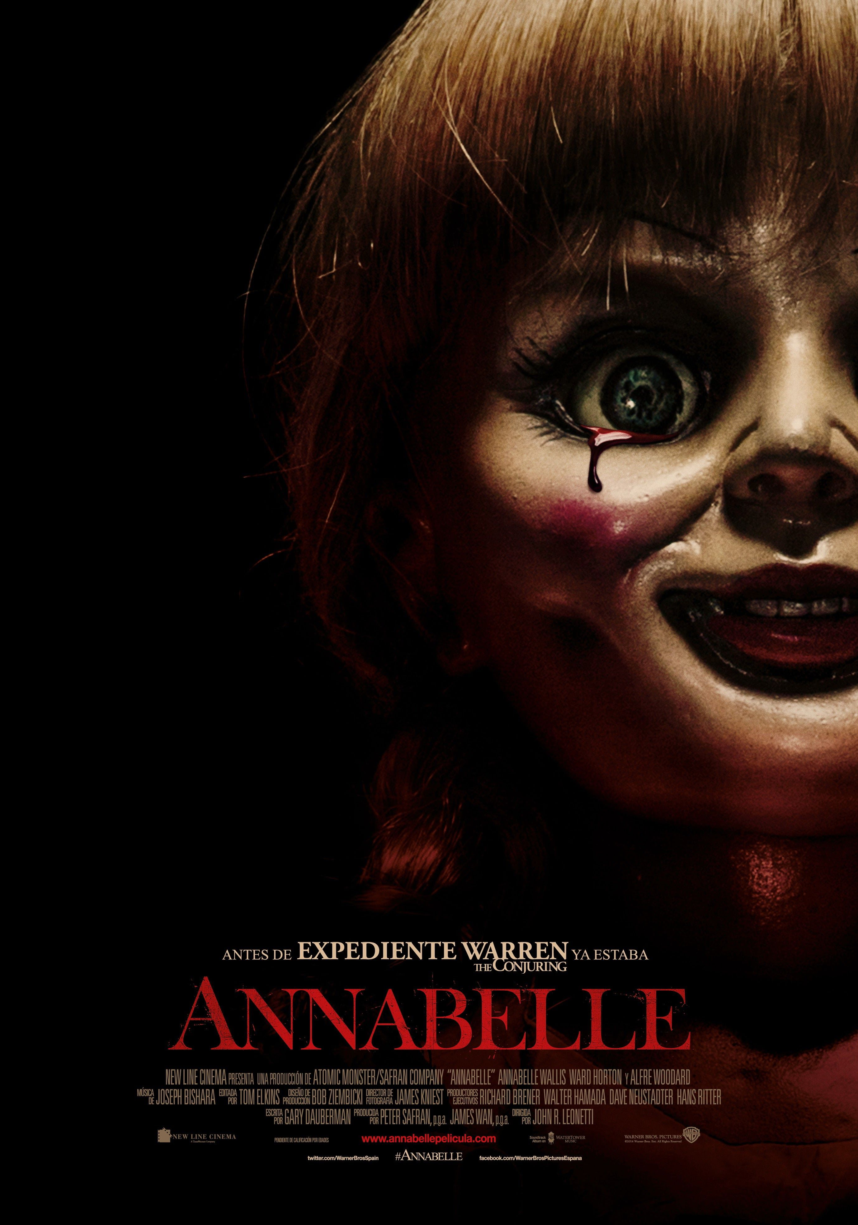Annabelle Annabelle Pelicula Peliculas De Terror Peliculas