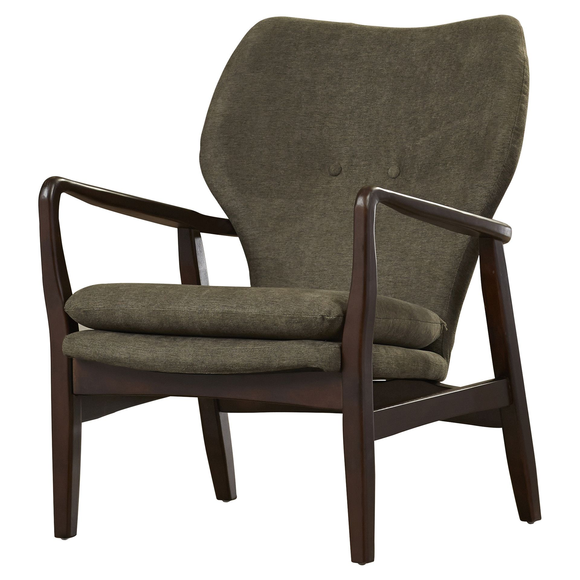Modern wood chair with arms - Ingels Wood Arm Chair