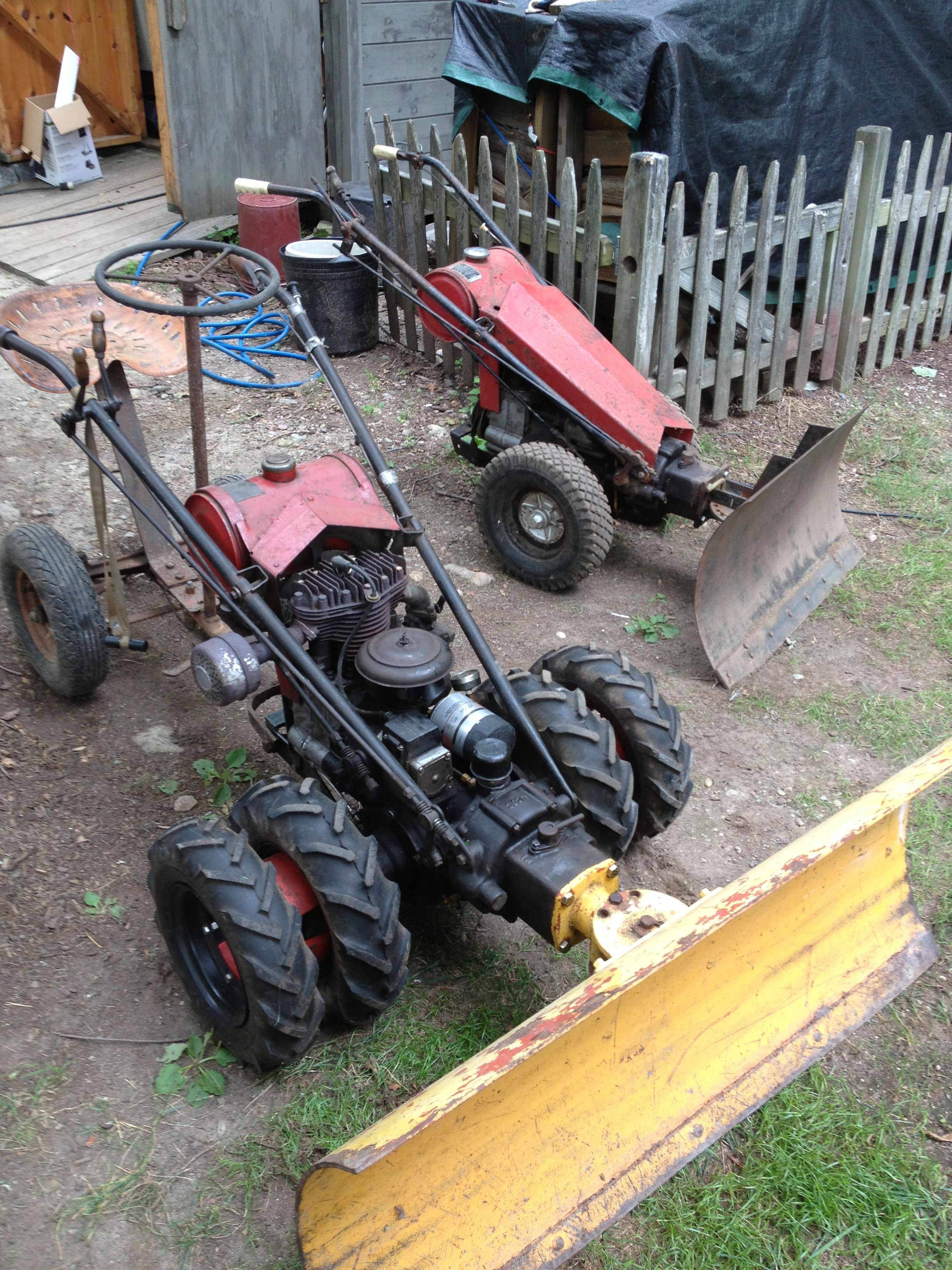Gravely plows | Gravely | Yard tractors, Walk behind tractor