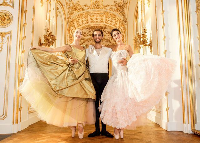vivienne westwood hapers bazaar | Vivienne Westwood cria figurino para balé de Vienna