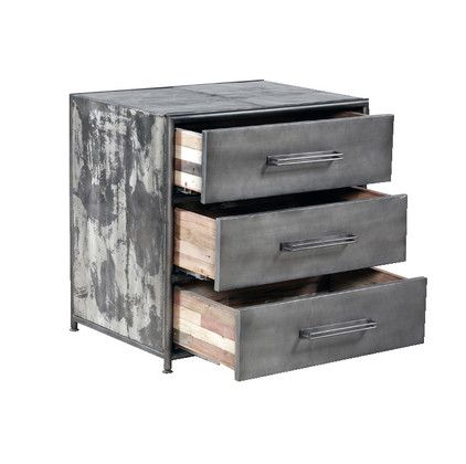 Best Bedside With 3 Drawers Bedside Table With 3 Drawers Of 640 x 480
