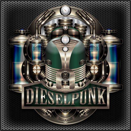 Dieselpunk Train Poster Online Diesel Punk Poster