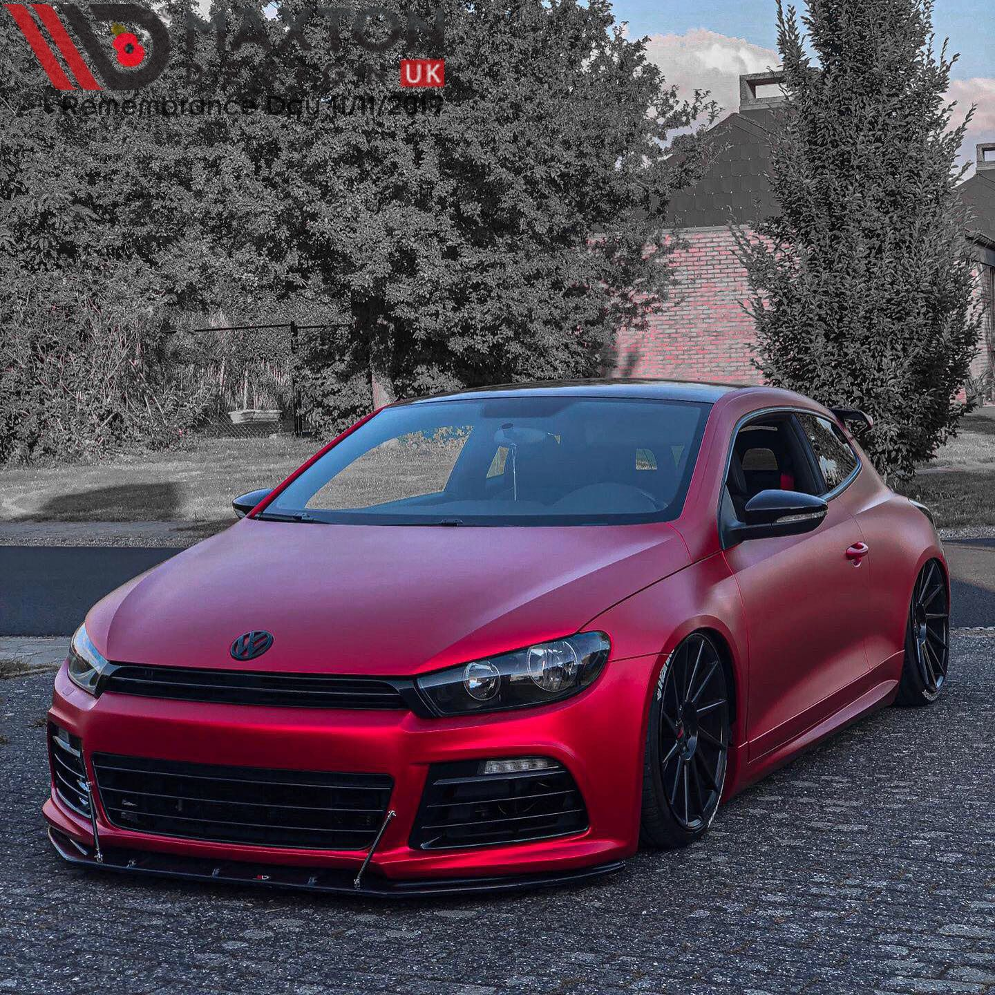 All Wrapped Up For Winter Glengoossens Instagram Showcasing Our Front Splitter Maxtondesign Maxtondesignuk Maxton Vw Scirocco Vw Cars Dream Cars Bmw