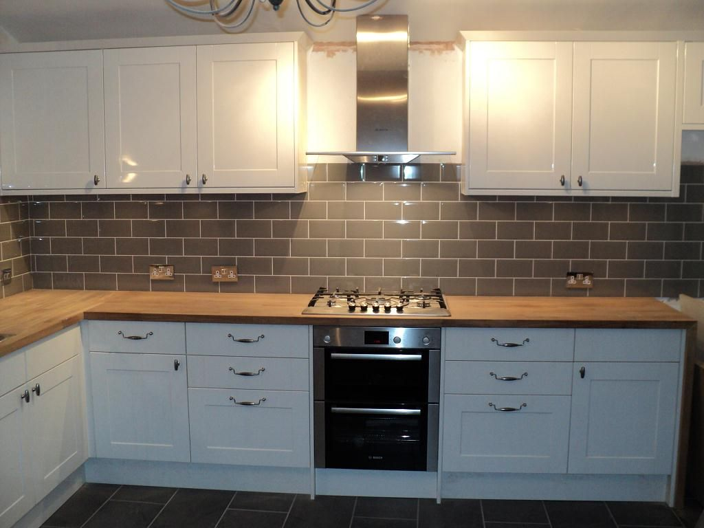 Modular Kitchen   Making The Best Out Of The Space. Kitchen Wall Tiles  DesignGrey ...