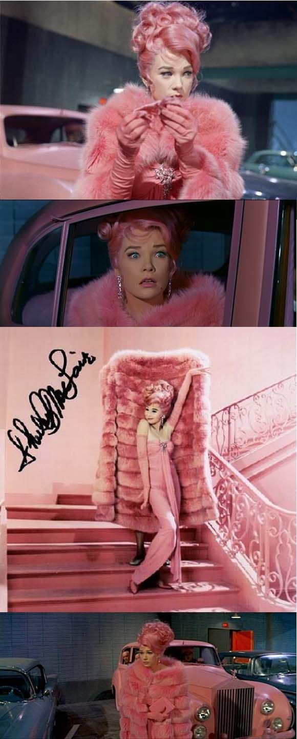What a Way to Go | Pink fashion, Everything pink, Pink love Shirley Maclaine In What A Way To Go