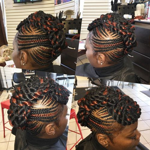 Pin By Kayrule Clothings On Everything Braids Twists Locs African Braids Hairstyles Braided Hairstyles Updo Braided Hairstyles