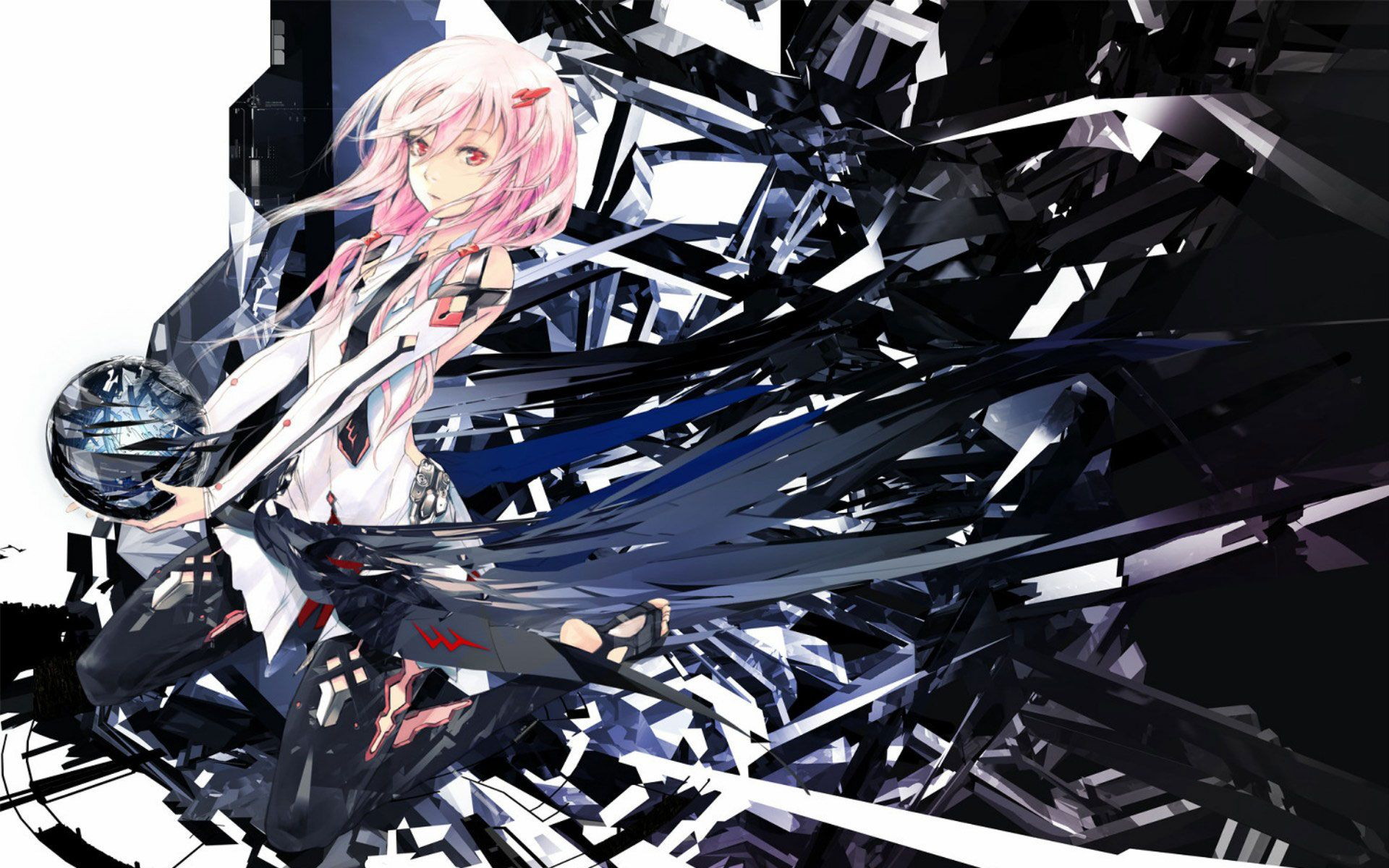 Guilty Crown Wallpaper Hd Anime Wallpaper Inori Yuzuriha Anime Canvas