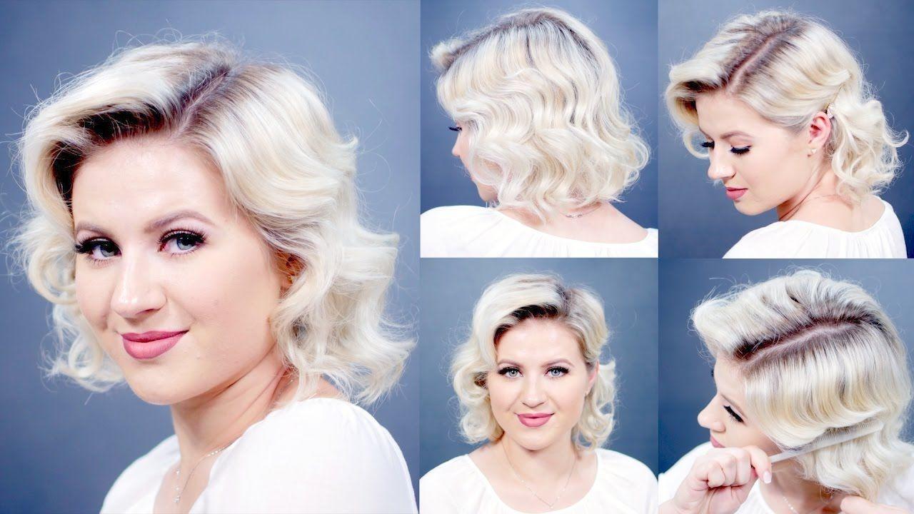 Finger Wave Hair Styles: Retro Finger Waves Short Hairstyles