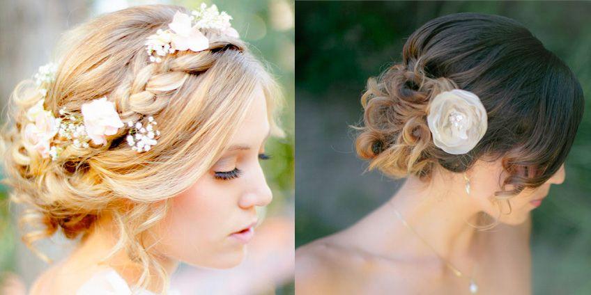 Peinados para la boda civil