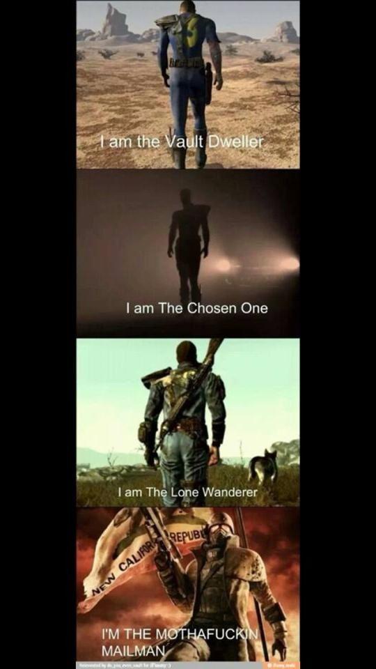 Ha! | Fell out stuffs | Fallout funny, Fallout game, Fallout new vegas