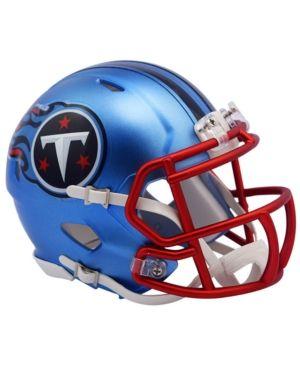 1c8b21b9c0fcb Riddell Tennessee Titans Speed Blaze Alternate Mini Helmet - LightBlue