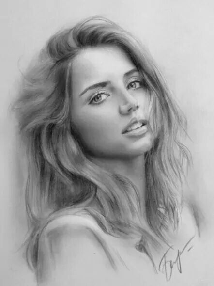 Pin By Dawn Williams On Sketches People Pencil Drawings Portrait Portrait Drawing