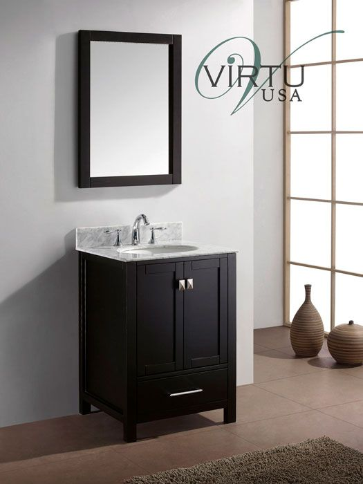 20 Eco Friendly Bathroom Vanities The 25 Caroline Avenue Espresso Vanity By Virtu