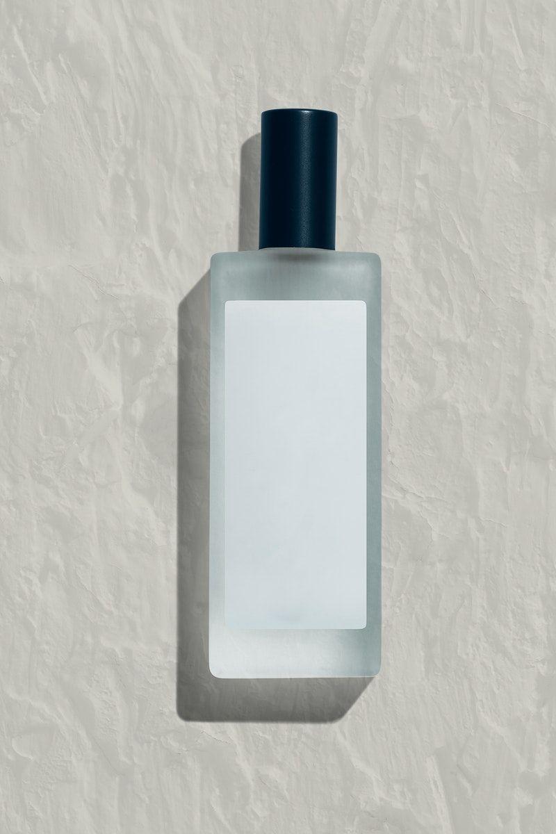 Download Download Premium Psd Of Blank Perfume Glass Bottle Mockup Design 2377746 Bottle Mockup Perfume Bottle Design Bottle Design Packaging