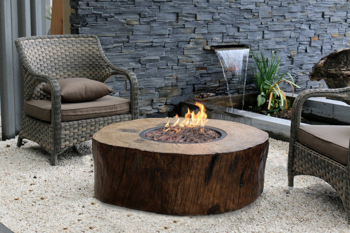 Manchester Stone Propane Fire Pit Table Propane Fire Pit Table
