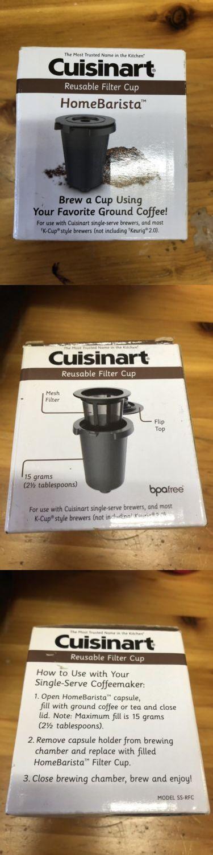 SS-RFC Cuisinart Reusable Filter Cup