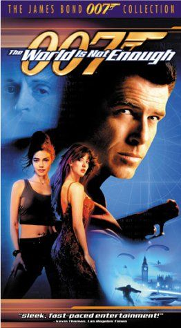 The World Is Not Enough Vhs Mgm Video Dvd Http Www Amazon