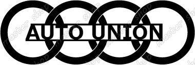 Auto Union Logo Cars Heraldry Avtogeraldika Pinterest Logos