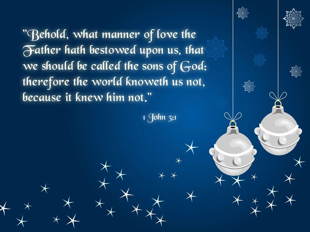 Christian Christmas Clip Art | Free Wallpaper Christian Christmas 1 John 3  1 1 John 3. Christmas Bible VersesChristmas QuotesChristian ...