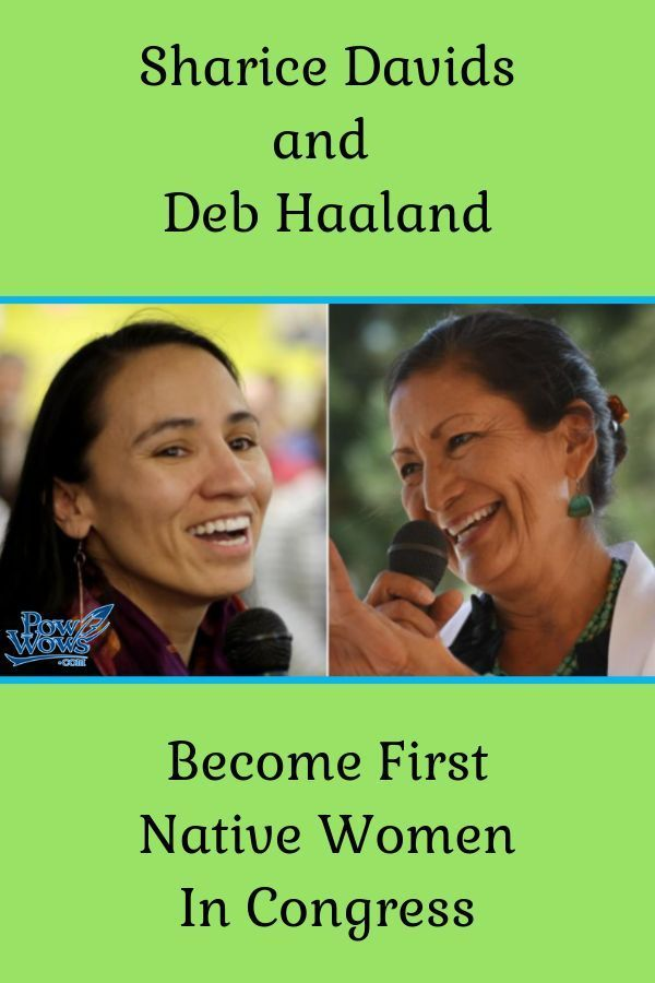 Sharice Davids and Deb Haaland Become First Native Women in Congress