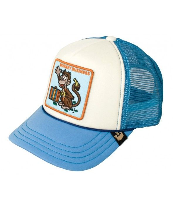 616c41492e9b9 Goorin Bros. KIDS Monkey Business trucker cap Gorras Camioneras