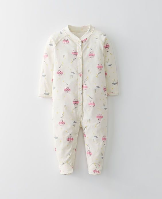 7bcd09e85236 Little Sleepers With Feet In Organic Pima Cotton