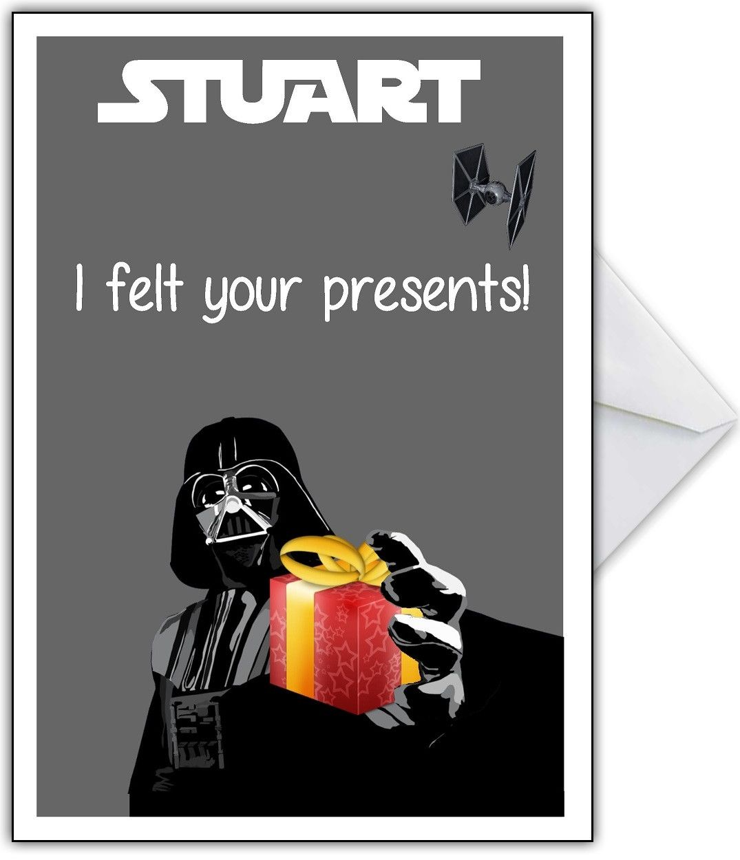 Funny STAR WARS Birthday Card – Star Wars Birthday Card