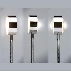 Photo of Top Light Steckerleuchte Puk Flexlight, Stecker weiß, Chrom, Arm 20cm Flexlight Chrom, 20,00 cm 3-32
