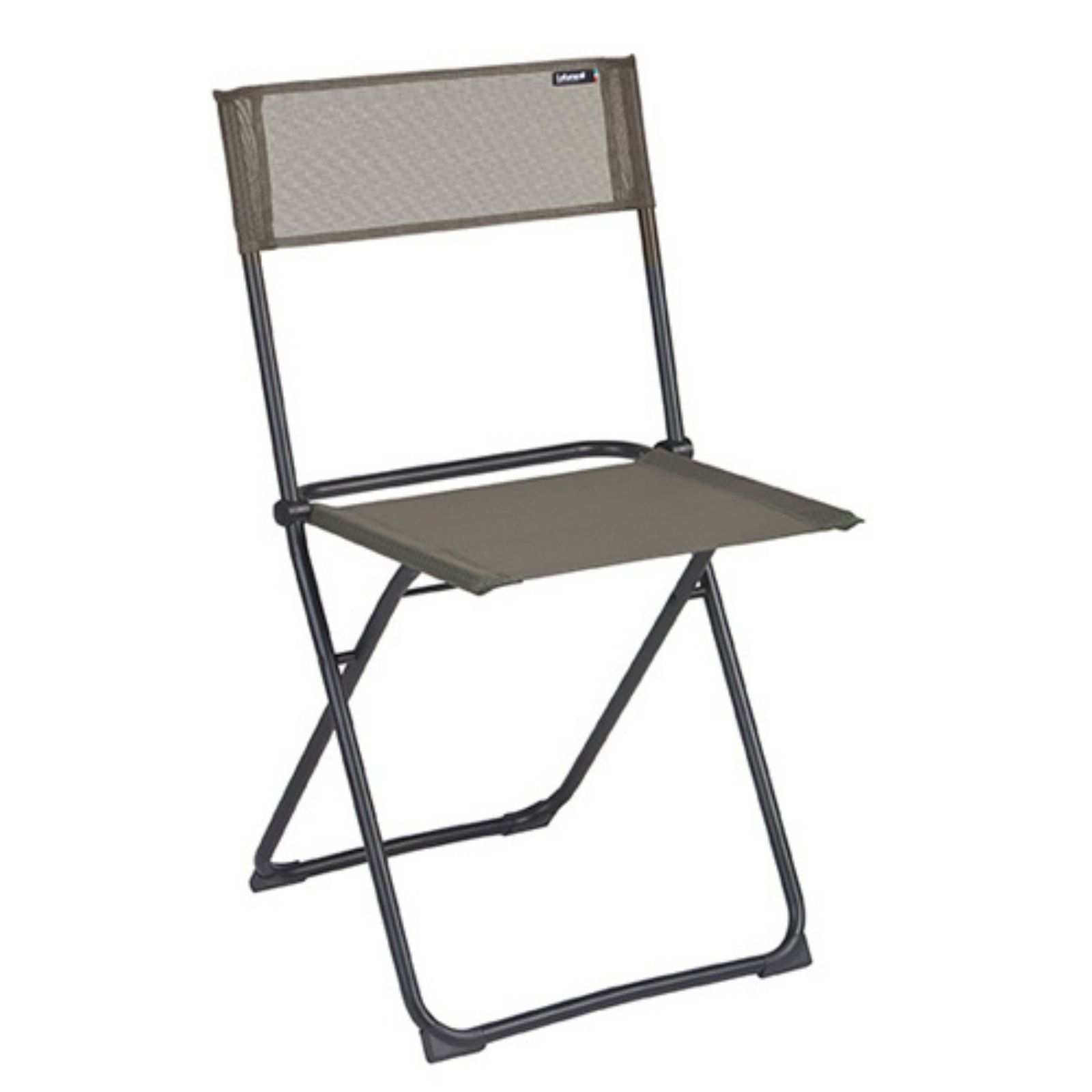and Beach Chairs During Travel- Black Camco Heavy Duty Chair Rack- Hook on RV Ladder to Support Folding Chairs 51490 Picnic Chairs