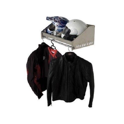 Aluminum+Helmet+Storage+Rack+Trailer+Shelf+Hanger+Race+Trailer+Motorcycle+Dirt+