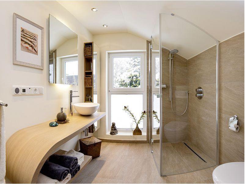 Bodenebene und barrierefreie Dusche in der Dachschräge - mit dem - badezimmer dachschrge