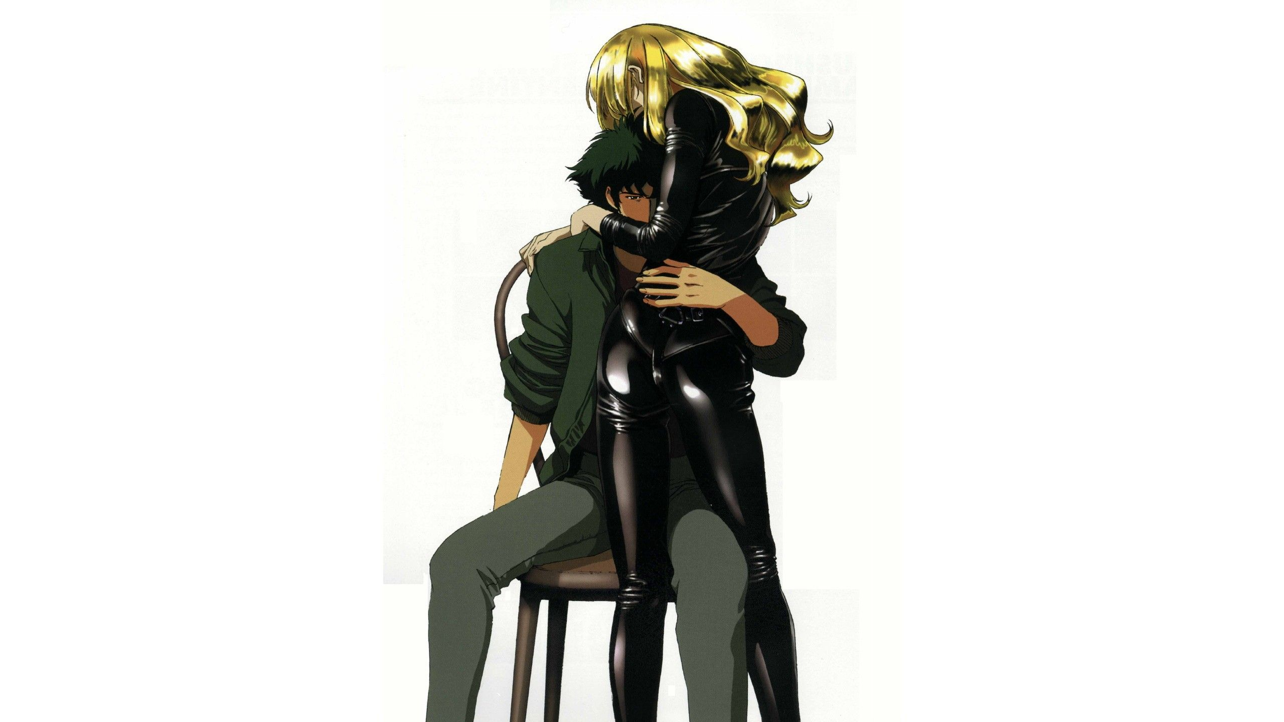 Anime 2560x1440 anime Cowboy Bebop Spike Spiegel Julia