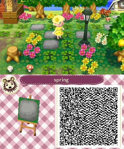 """sunflowerstereo: """"updated my stepping stone for spring! if you use it, tag me in the pictures you post of it """""""