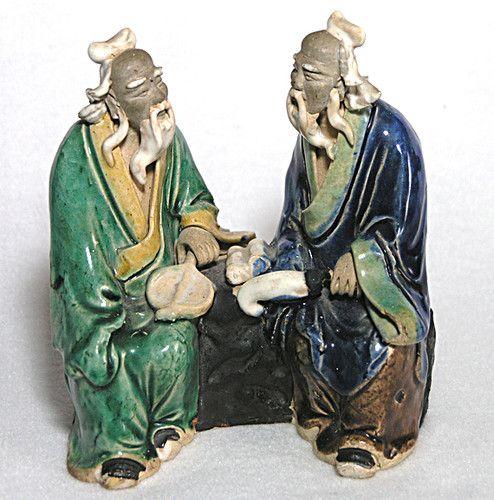 Vintage Chinese Mud Men.