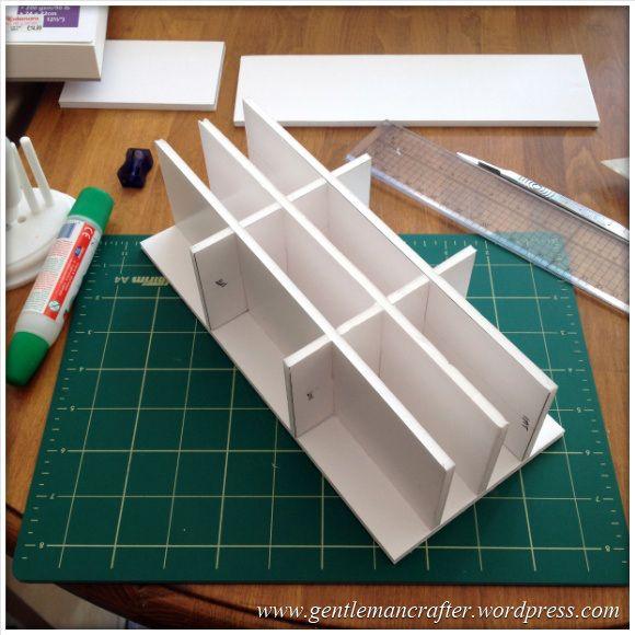 Monday mash up diy tim holtz distress inkpad storage for Tim holtz craft mat