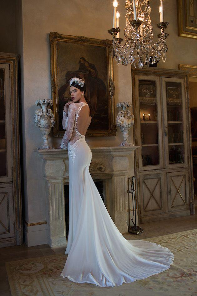 open back wedding dress by @bertabridal