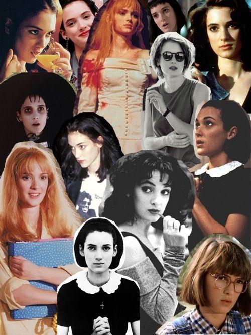 Winona Ryder collage
