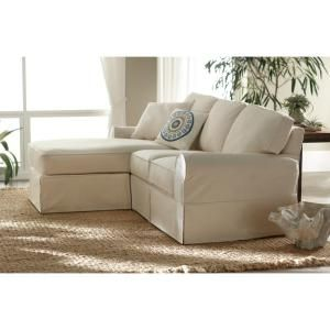 Home Decorators Collection Mayfair Fabric 2 Piece Slipcovered Sofa
