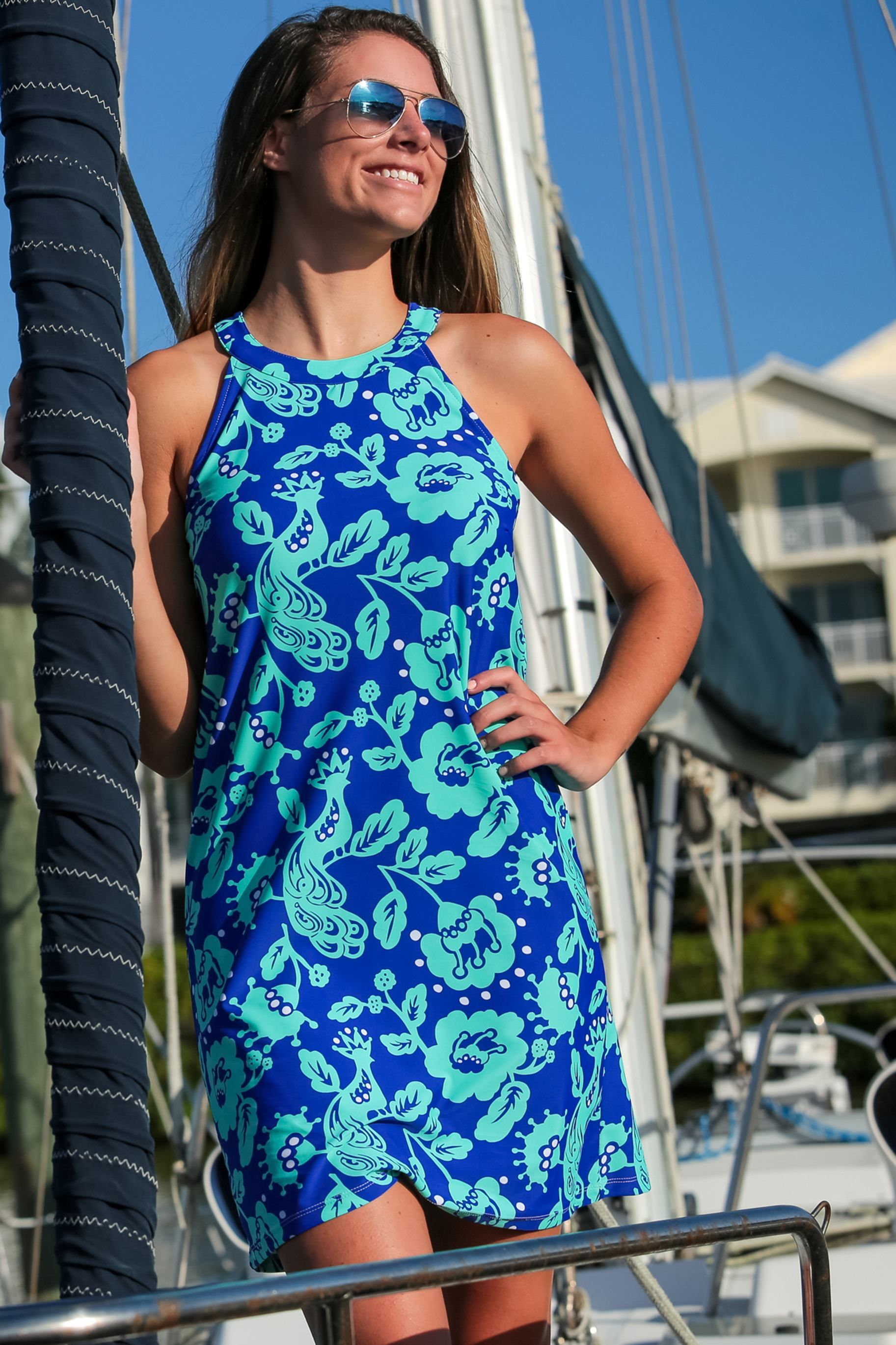 Great Summer Dress With Wrinkle Resistant Fabric Feels Cool On The Skin And Has Upf 50 Excellent Sun Protection All F Clothes For Women Prep Style Fashion [ 2738 x 1825 Pixel ]