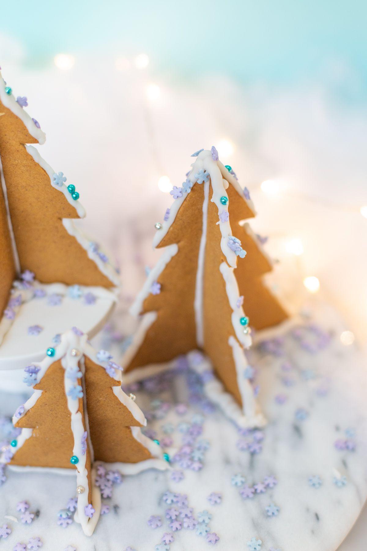 How To Make 3d Gingerbread Christmas Trees I Heart Xmas
