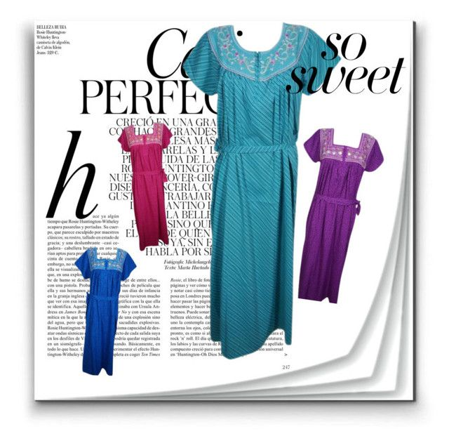 Women Nightwear by lavanyas-trendzs on Polyvore featuring Whiteley  nighty   embroidered  nightwear 8025bbc85