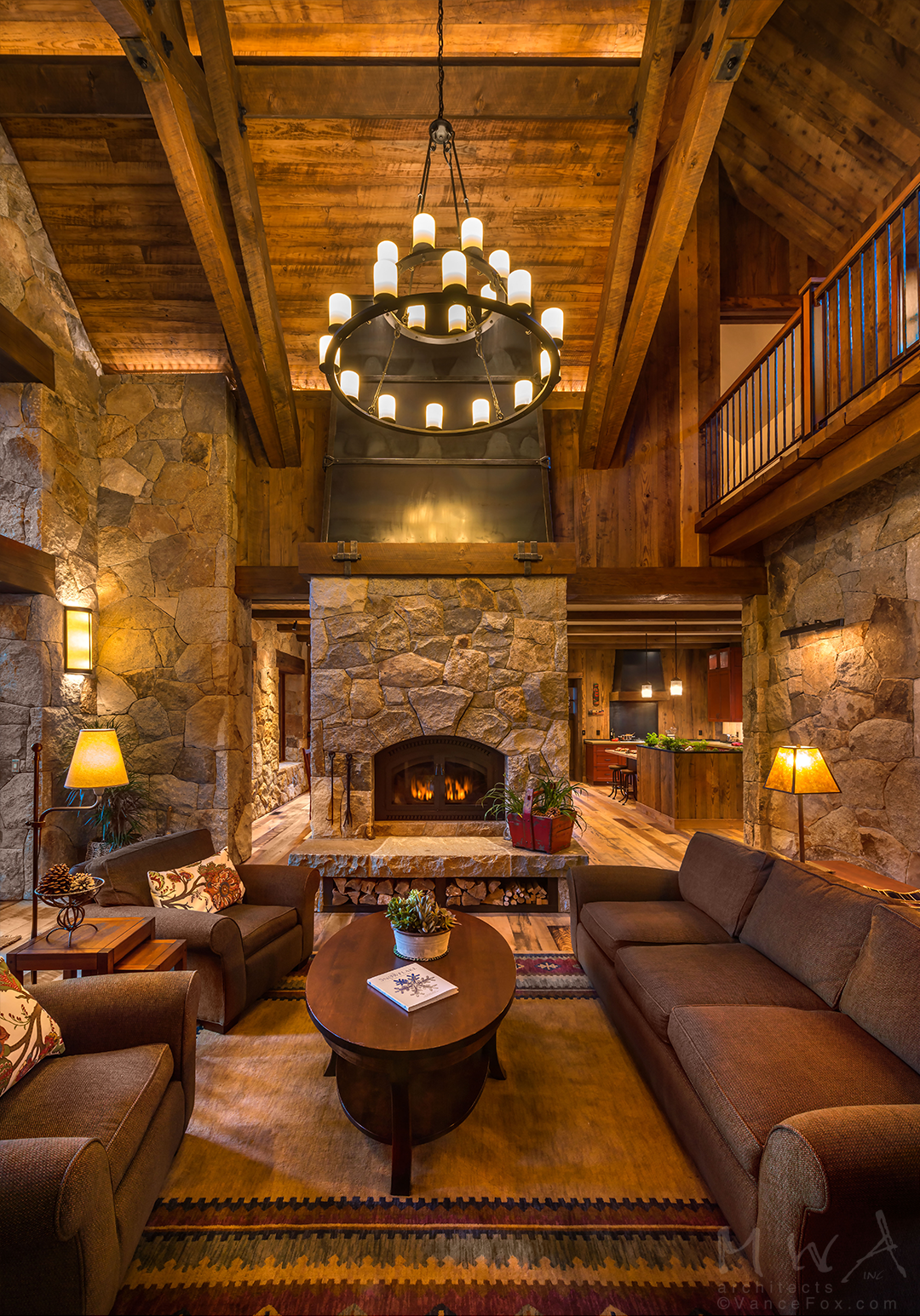 20 Living Room With Fireplace That Will Warm You All Winter Rustic Chic Living Room Log Cabin Interior Cabin Living Room